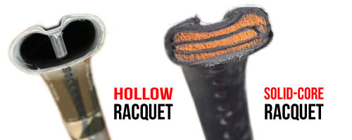 hollow v solid